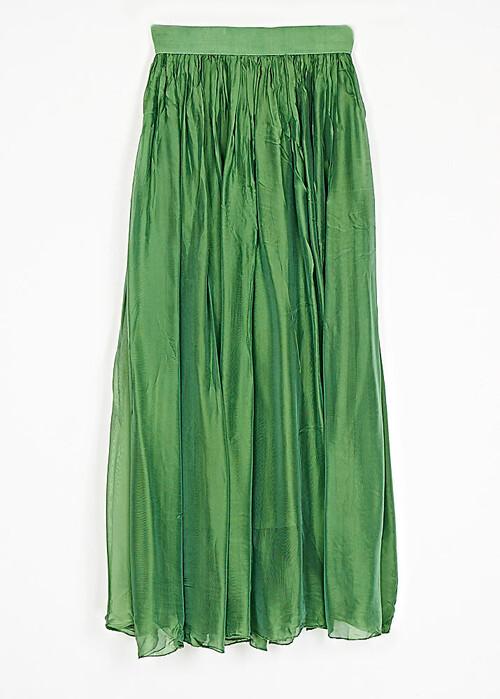 skirt-schiffon-silk-with-band-cuca.gr